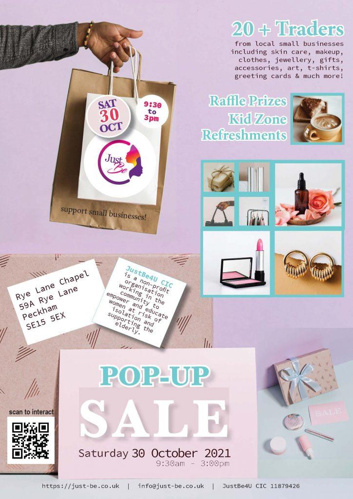 JustBe Pop-Up Sale